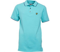 Lyle And Scott Boys Classic Tipped Polo Spring Green