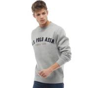 Port Sweatshirt Graumeliert