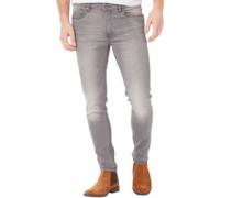 Ringspun Herren Oberon Skinny Jeans Verblasstes Grau