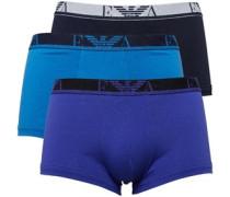 Emporio Armani Herren Trunks Cobalt Boxershorts Mehrfarbig