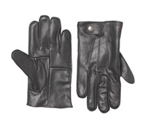 French Connection Herren Leather Handschuhe Schwarz