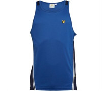 Lyle And Scott Vintage Mens Bradshaw Vest Saltire Blue