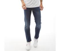 Glenn Original AM 431 SPS Jeans in Slim Passform Dunkel