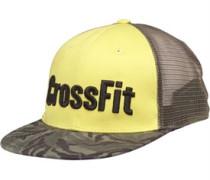 CrossFit Snap Back Trucker Mütze Gelb