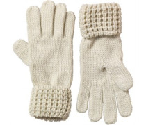Damen Handschuhe Creme