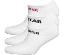 Converse Jungen  Socken Weiß