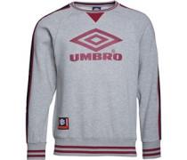Umbro Herren Pro Tempo Sweatshirt Grau