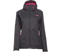 THE NORTH FACE Damen Sequence 3 Layer Hyvent Waterproof Moon Performance Jacket Blau
