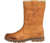 Timberland Junior Asphalt Trial 8 Inch Waterproof Pull On Boot Wheat