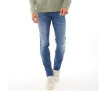 Glenn Rock Bl 894 Lid Jeans in Slim Passform Denim