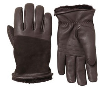 UGG Australia Womens Cascade Blocked Leather Glove Brown