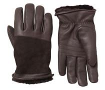 Damen Cascade Blocked Handschuhe Braun
