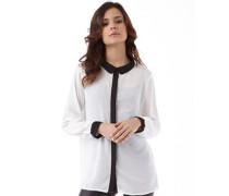 Brave Soul Womens Xena Georgette Shirt Cream/Black