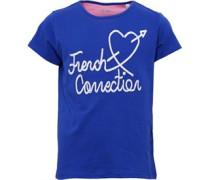 Mädchen T-Shirt Blau