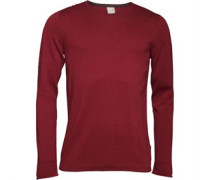 Bench Mens Xenial Crew Neck Sweat Red