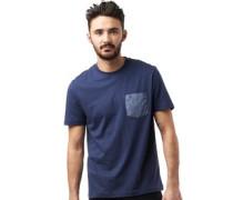 Original Penguin Herren Polka Dot Pocket T-Shirt Blau