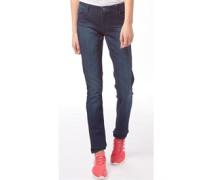 Damen Skinny Jeans Dunkelblau