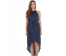 Firetrap Damen ndi Wrap Front Maxi Kleid Blau