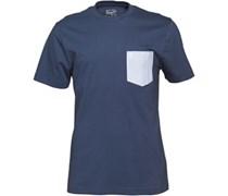 Herren Oxford Pocket D-s T-Shirt Navy