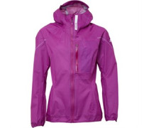 Damen Terrex Agravic Climaproof 3 Layer Waterproof Performance Jacket Rosa