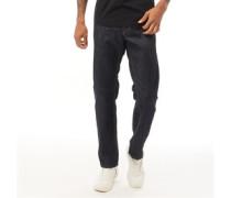 Waykee 084HN Jeans mit geradem Bein Dunkel