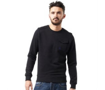 Duck and Cover Herren Reilly Sweatshirt Black