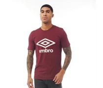 Active Style Logo T-Shirt Burgunder