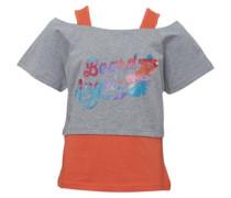 Board Angels Mädchen T-Shirt Graumeliert