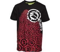 Jungen Pillar of Ds T-Shirt Schwarz