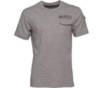 Herren Crespa T-Shirt Graumeliert