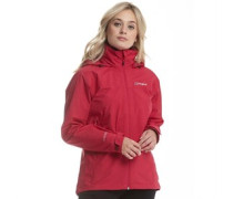 Damen Thunder 2 Layer Gore-Tex Shell Performance Jacke Dunkelrosa