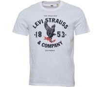 Levi's Herren Graphic T-Shirt Weiß