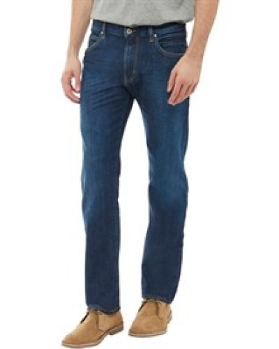 Jeans in Slim Passform Dunkel