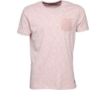Herren Nixon T-Shirt Rosameliert