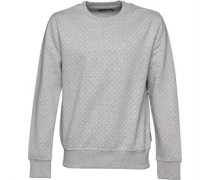 French Connection Mens Polka Dot Sweater Grey