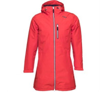 Damen Belfast Long Performance Jacket Rot