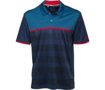 Climacool 2D-Camo Stripe Golf Polohemd Granatowy