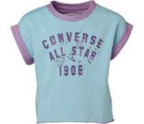 Converse Mädchen less Motel Pool Sweatshirt Blau