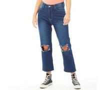 Seba Jeans mit geradem Bein Denim