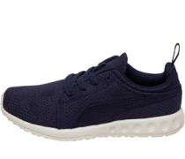 Carson Runner Camo Mesh Sneakers Navy