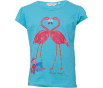 Board Angels Junior Flamingo T-Shirt Turq