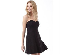 Superdry Womens 90's Lace Dress Black