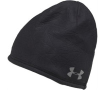 Mens Coldgear Infrared Embossed Beanie Black