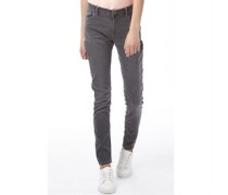 adidas Neo Damen Skinny Jeans Hellgrau