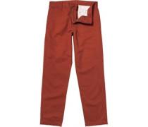 Carhartt Herren Prime Canyon Mill ed Chinos mit geradem Bein Rot