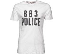 Herren Chine T-Shirt White