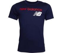 Heritage Logo Graphic T-Shirt Navy