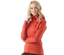 Damen Strandhall Fleece Rot