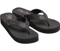 Vinyasa Beach League YOGA FOAM® Black Wedge Sandalen