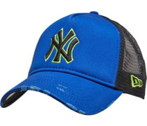 Unisex MLB New York Yankees Distressed 9forty Trucker Mütze